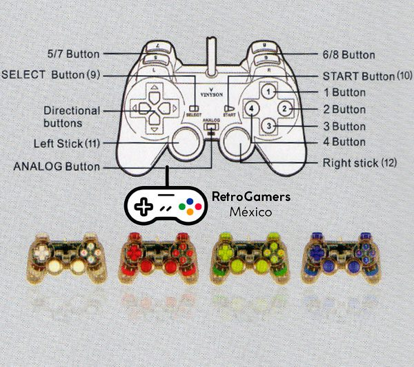 Control Tipo Play Station