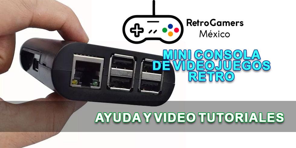 mini consola de videojuegos retro