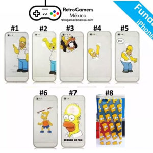 Funda Simpsons iPhone