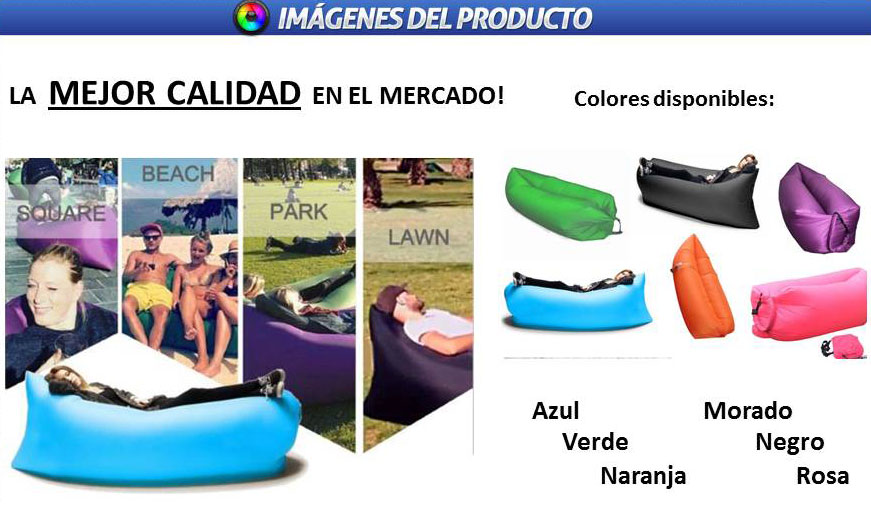 Sillon Colchon Cama Inflable